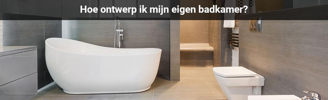 Badkamer zelf ontwerpen? Doe het samen met Juffers!